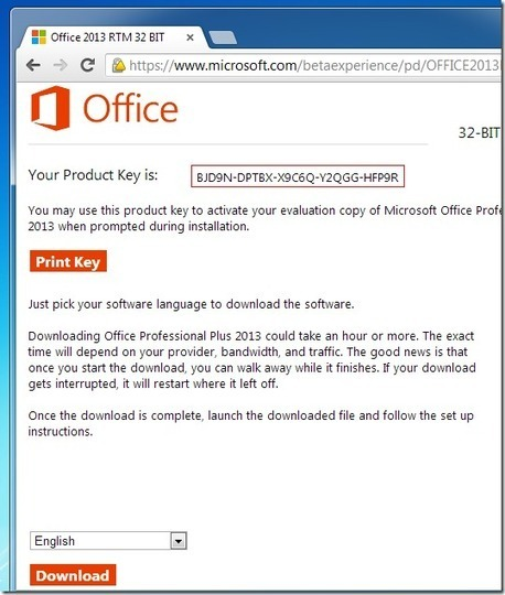 Microsoft Office 2013 Crack With Product Key Generator (Updated)