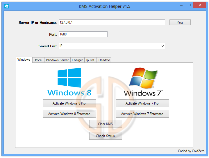 windows 7 enterprise kms server list