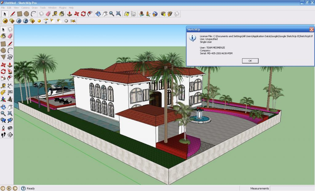 Google Sketchup 8 Pro 2017 Crack Plus Keygen Free Download