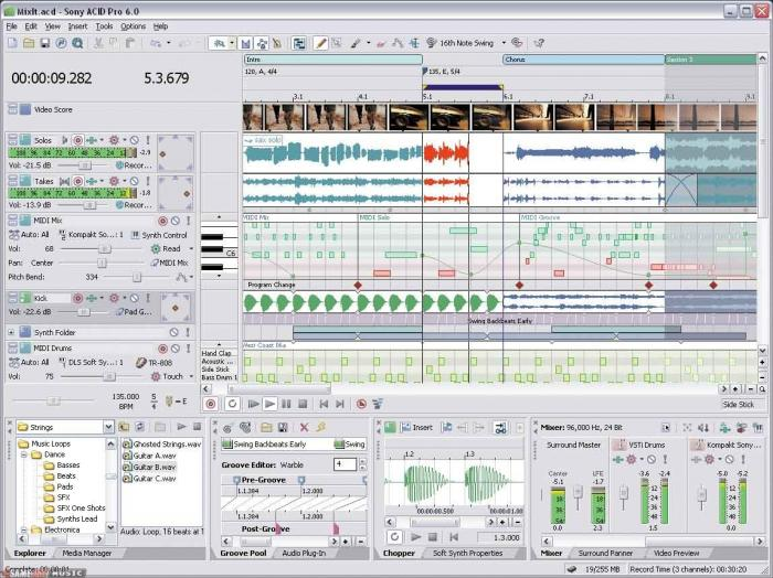 Acid music software